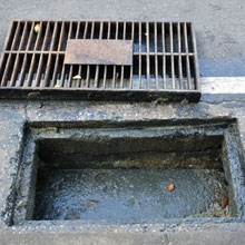Road Gully Pots and Drains De-Silted